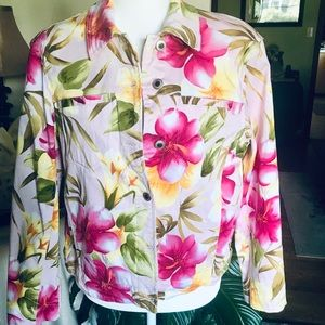 Caribbean Joe NWOT jacket Size:Lg
